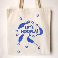 original_lets-hoopla-hand-printed-tote-bag